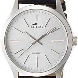 Lotus  15961/1 – Reloj de cuarzo para hombre, con correa de cuero,