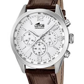 Lotus 18155/1 – Reloj de pulsera hombre, Cuero, color Marrón