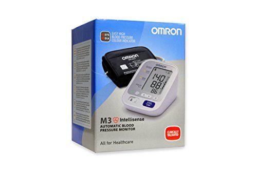 Omron M3 - Monitor de presión arterial automático de brazo, color