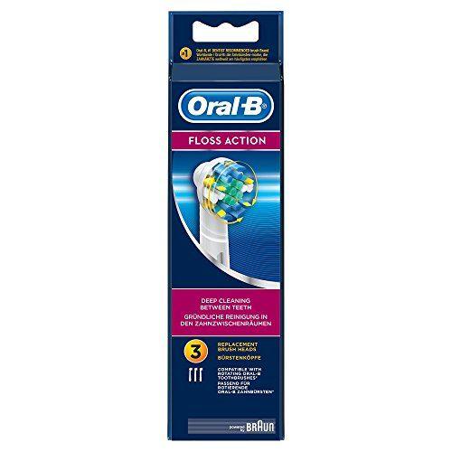 Oral-B FlossAction – Cabezal de recambio para cepillo de dientes