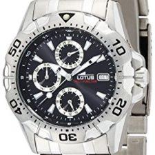 Lotus 15301/6 – Reloj de caballero de cuarzo, correa de acero Relojes