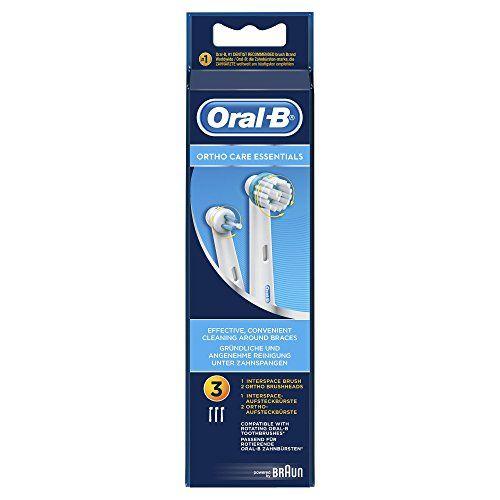 Oral-B Ortho Care - Cabezal de recambio, 3 unidades