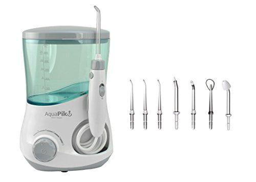 Aquapik 100 - Irrigador dental y Nasal único en el mundo (incluye 7