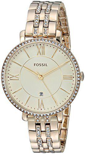 Fossil ES3547 - Reloj de pulsera para Mujer, amarillo / oro amarillo