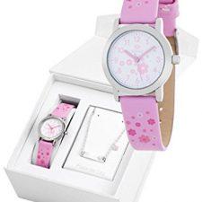 Conjunto reloj marea niña B35284/11 y nomeolvides plata de ley Relojes Marea