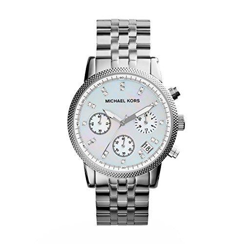 Michael Kors MK5020 – Reloj de cuarzo con correa de acero inoxidable