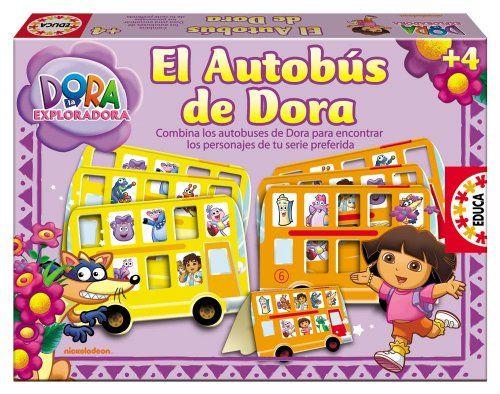 Educa Borrás 14983 – El Autobus De Dora La Exploradora Juguetes Dora la Exploradora