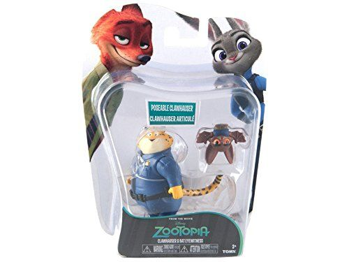 Zootropolis – Pack de 2 figuras, multicolor (Bizak 30690901)