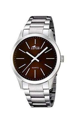 Lotus  15959/2 - Reloj de cuarzo para hombre, con correa de acero