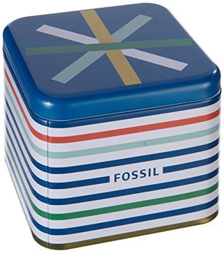 Fossil ES2859 - Reloj analógico de cuarzo para hombre con correa de