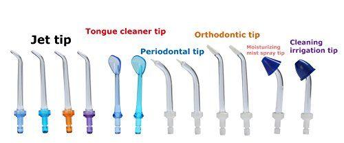 H2ofloss® Irrigador Oral Quiet Design (menos de 50db) con 12 Puntas