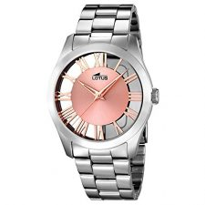 LOTUS 18122/1 – Colección Trendy, reloj de mujer, cadena de acero Relojes