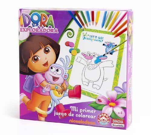 Nickelodeon – Dora La Exploradora, mi primer juego de colorear (Dinova
