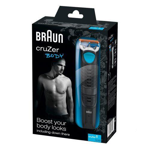 Braun CruZer 5 Body - Afeitadora corporal masculina