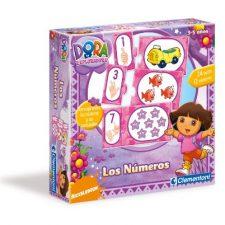 Clementoni- Los Números con Dora La Exploradora Juguetes Dora la Exploradora