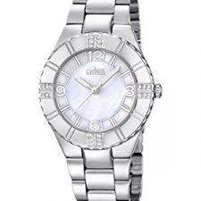 Lotus 15905/1 – Reloj de cuarzo para mujer, correa de acero inoxidable Relojes