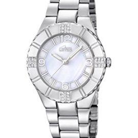 Lotus 15905/1 - Reloj de cuarzo para mujer, correa de acero inoxidable