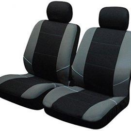 Sakura SS3633 – Juego de fundas para asientos delanteros de coche,