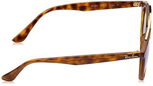 RAY BAN MOD 4256 SUN, Gafas de Sol Hombre^Mujer, Matte Havana Frame