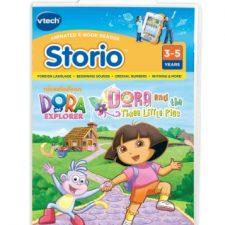 Dora – Tablet para niños Los Tres Cerditos (versión en inglés) Juguetes Dora la Exploradora