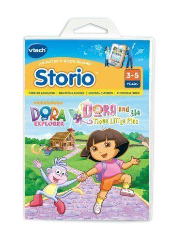 Dora – Tablet para niños Los Tres Cerditos (versión en inglés)