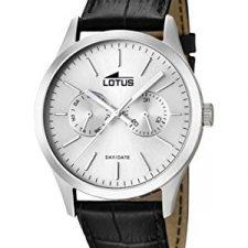Lotus  15956/1 – Reloj de cuarzo para hombre, con correa de cuero, Relojes