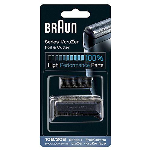 Braun 10B/20B - Recambio para afeitadora eléctrica, compatible con