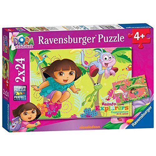 Ravensburger – Puzzle Dora La Exploradora de 24 piezas (27.5×19.2 cm)