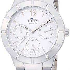 Lotus 15913/1 – Reloj de cuarzo para mujer, Correa de acero inoxidable