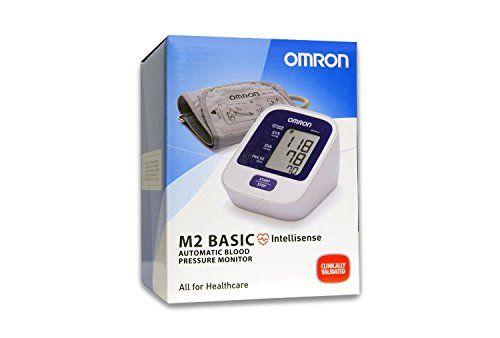 Omron OM-M2 Basic Tensiómetro de Brazo, Color Blanco - 517 gr