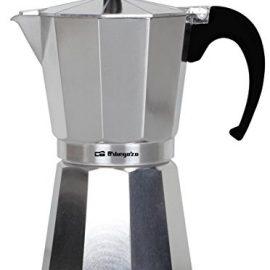 Orbegozo KF 600 - Cafetera de aluminio, 6 tazas