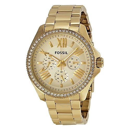 Fossil AM4482 - Reloj de pulsera para Mujer, amarillo