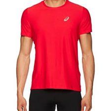 Asics Camiseta de manga corta para hombre Ropa deportiva ASICS