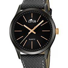Lotus 18165/2 – Reloj de pulsera hombre, color Gris Relojes