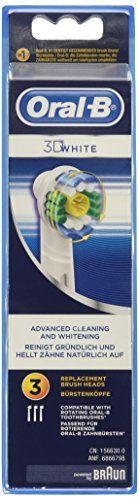 Oral-B 3D White – Cabezal de recambio para cepillo de dientes