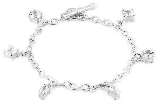 Bracelet - B2273 - CZ - Pulsera de mujer de plata con circonitas, 18