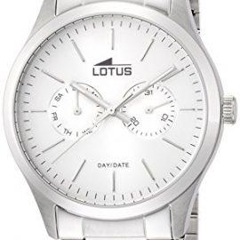 Lotus  15954/1 – Reloj de cuarzo para hombre, con correa de acero