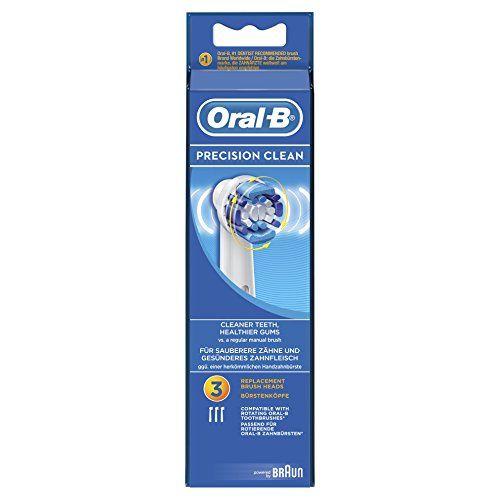 Oral-B Precision Clean – Cabezal de recambio, 3 unidades