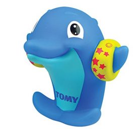 Tomy Infant - Delfines silbantes, color azul (Bizak 30692359)