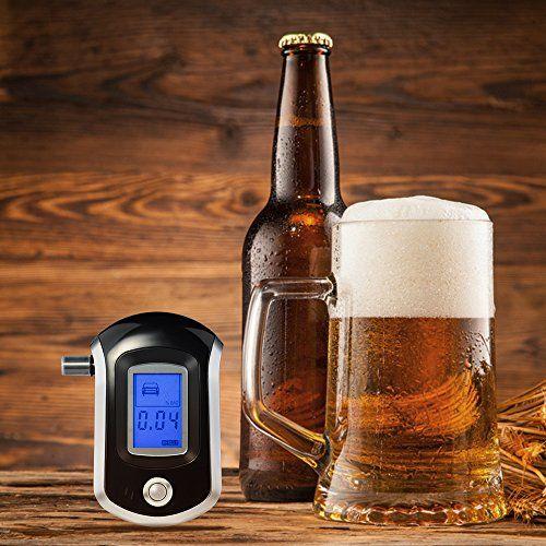 VicTsing Alcoholímetro Digital con Nano Semiconductores Sensor y LCD