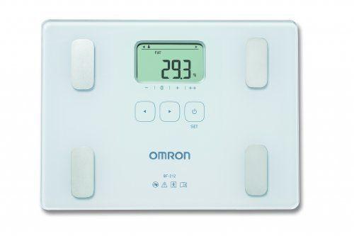 Omron BF212 - Báscula de composición corporal, color blanco