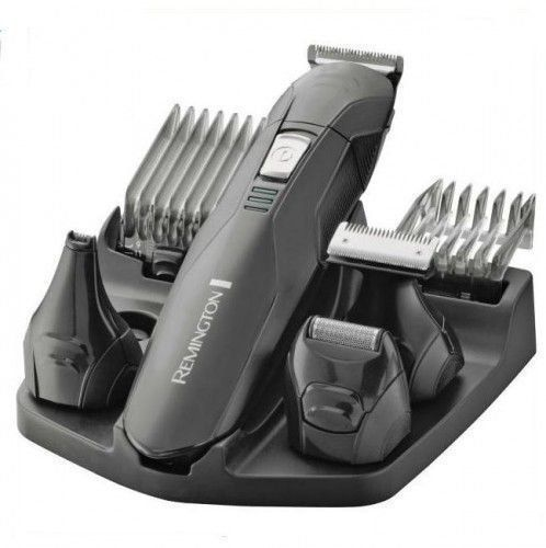 Remington PG6030 Edge – Kit de afeitado inalámbrico, seis cabezales,