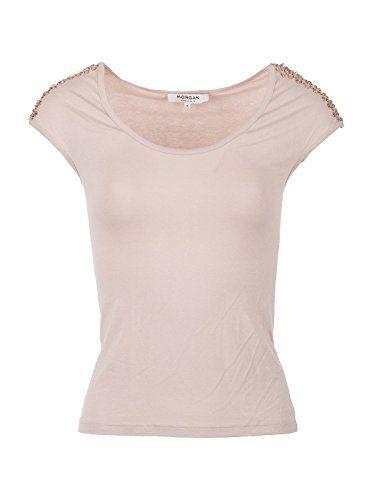 Camiseta hombros pedrería de Morgan de Toi