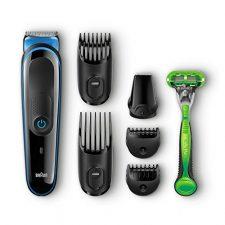 Braun MGK3040 – Set de afeitado multifunción: recortadora de pelo y Braun