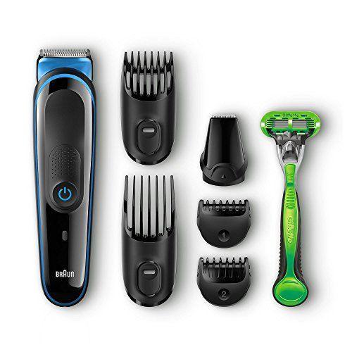 Braun MGK3040 - Set de afeitado multifunción: recortadora de pelo y