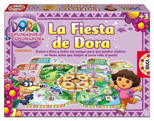 Educa Borrás 14707 – La Fiesta De Dora La Exploradora Juguetes Dora la Exploradora