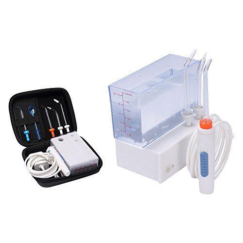 H2ofloss® Recargable WaterJet Irrigador Dental Portátil e IPX6
