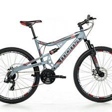 Moma – Bicicleta Montaña Mountainbike 27,5″ BTT SHIMANO, aluminio, Bicicletas de Montaña