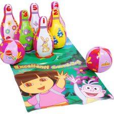 Dora la Exploradora – Juego de bolos (Saica Toys 8126) Juguetes Dora la Exploradora