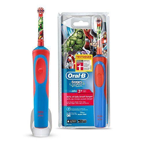Oral-B Stages Power Kids - Cepillo de dientes eléctrico
